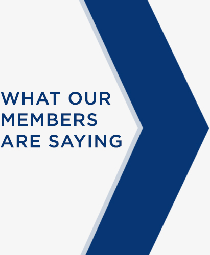 What our members are saying